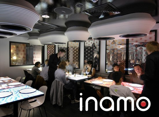 Inamo soho london soho restaurant reviews phone for 14th avenue salon albany oregon