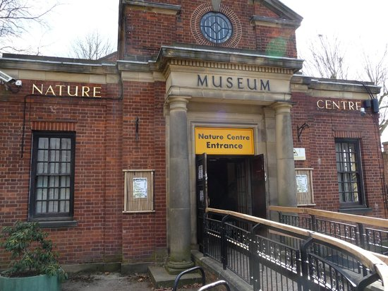 Birmingham Wildlife Conservation Park : Entrance / shop