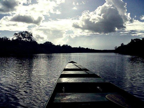 Amazon Tupana Lodge: passeio pelo Rio Tupana
