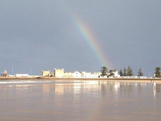 Riad Thais : Rainbow over Essaouira
