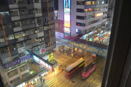 Yesinn Causeway Bay: view from window