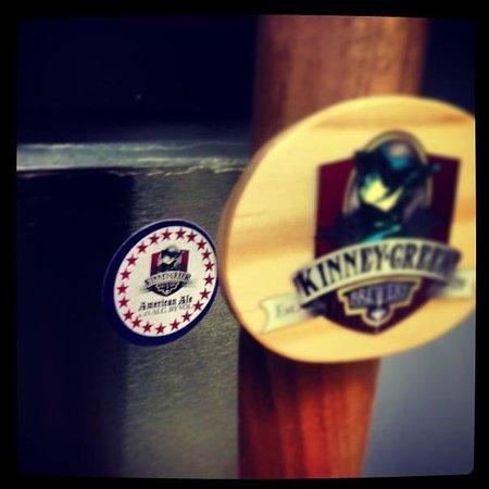 Kinney Creek Brewery: Kinney Creek's American Ale on tap!