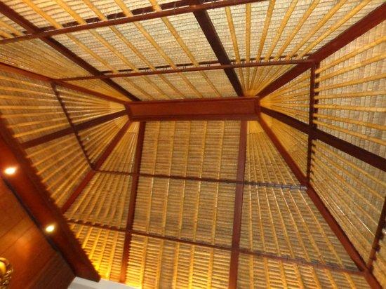 โรงแรมวิลล่า มาหาพาลา: villa ceiling