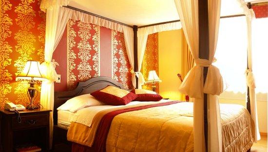 Morenica del Rosario Hotel: Elegantes habitaciones