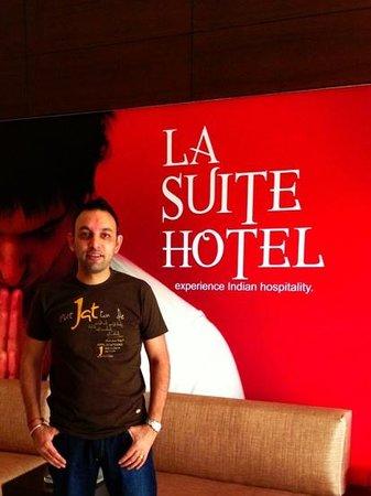 Hotel La Suite: Happy HOLI to everyone