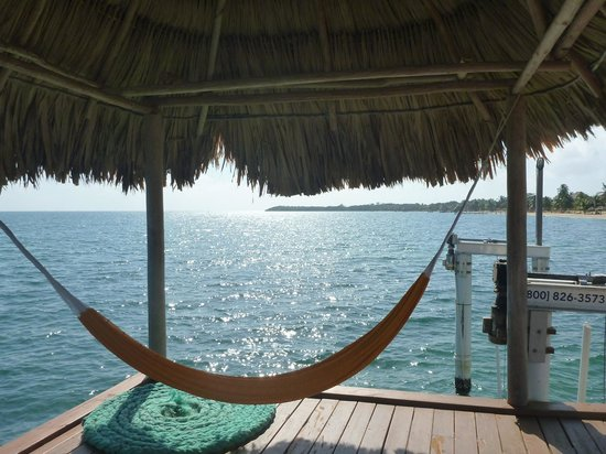 Hamanasi Adventure and Dive Resort: Ahhhh, relax!
