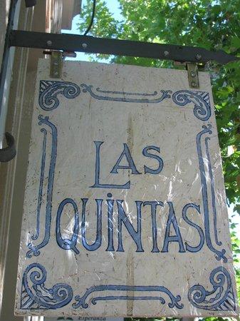 Posada Las Quintas: Frente del Hotel