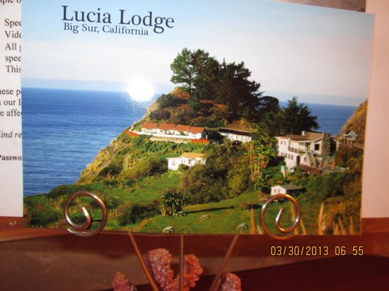 Lucia Lodge : Photo of their own postcard