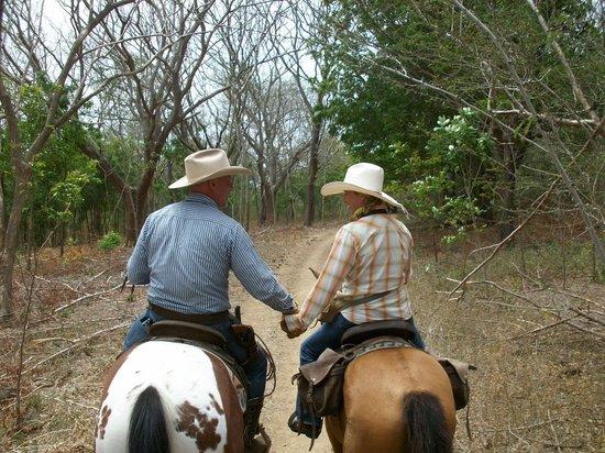 Rancho Chilamate Adventures on Horseback: Blue & Jamie :-)