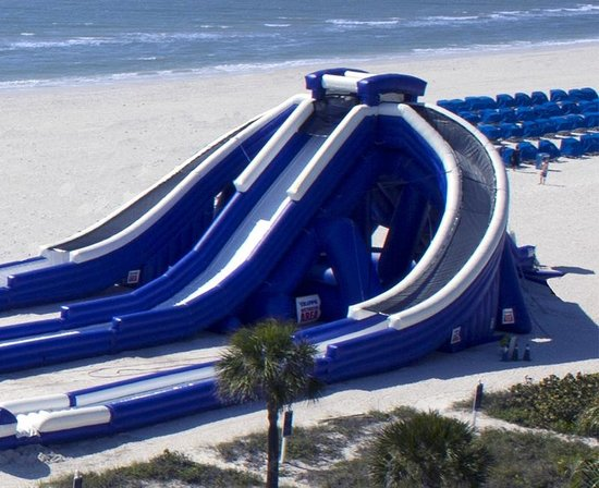 High Tide Slide At Tradewinds Island Resorts