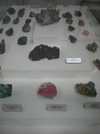 Museo de Minerales Andres del Castillo: una gama inmensa de minerales