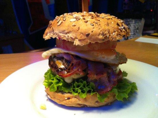 Wongar Australian House: Der Aussie Burger - ein wahrer Gourmet Burger