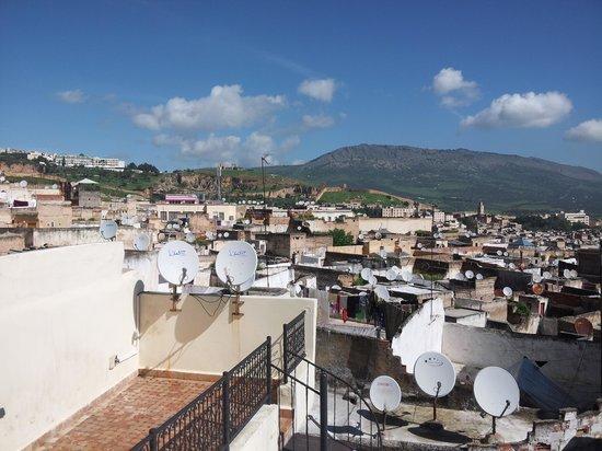 Dar Hafsa: Vista de la terraza