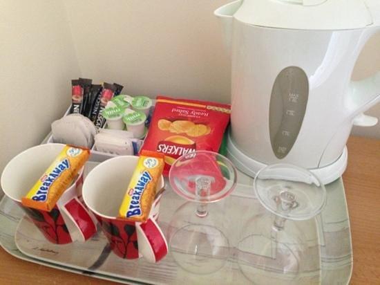 Llanberis Lodges: good snacks are a bonus too!