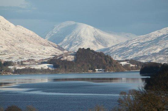 Inverinan Mor Luxury Country House Bed & Breakfast: Winter on Loch Awe