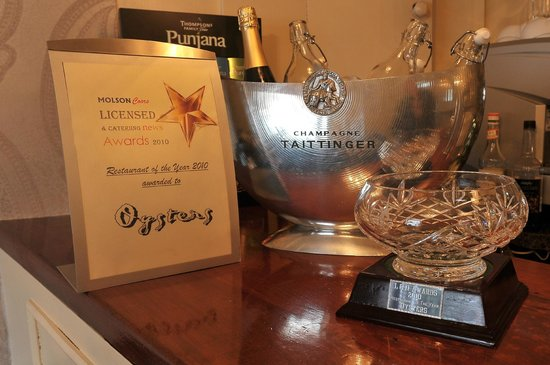 Oysters: Lcn Northern Ireland Restaurant of the Year 2010 Award
