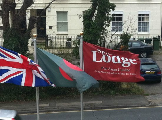 The Spice Lodge: Three Flages