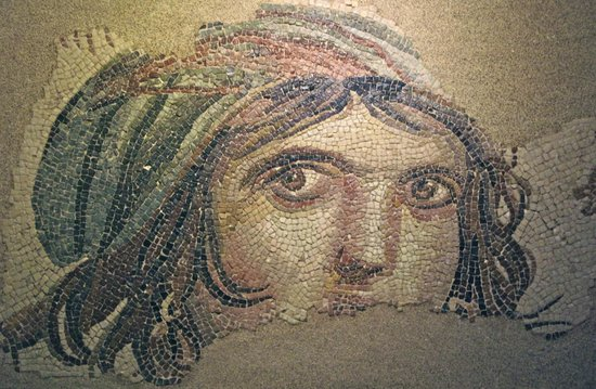 Just one of many. - Picture of Zeugma Mozaik Muzesi ...