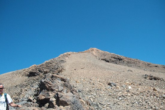 Volcan El Teide: Szczyt wulkanu