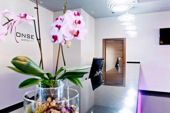 Hotel Dña Monse: Recepción