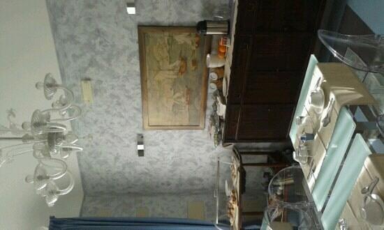 Archimede Vacanze : la sala della colazione