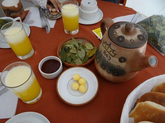 Antares Mystic Hotel: Breakfast