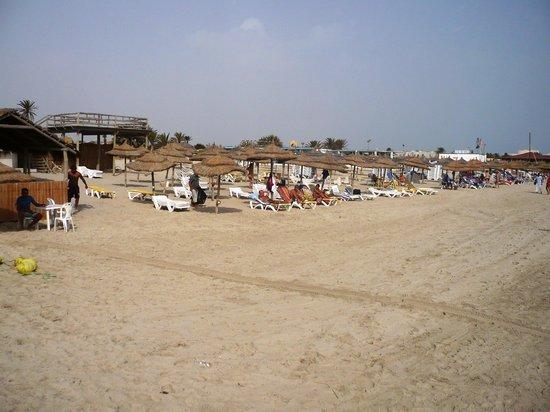 Djerba Mare: Spiaggia del villaggio