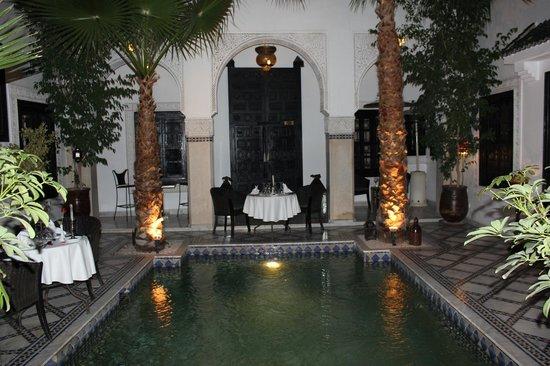 Restaurant Riad Monceau: Délicieuse soirée à Marrakech
