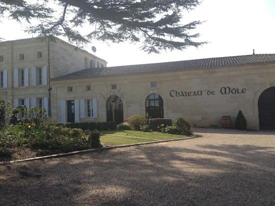 Chateau de Mole: Facade