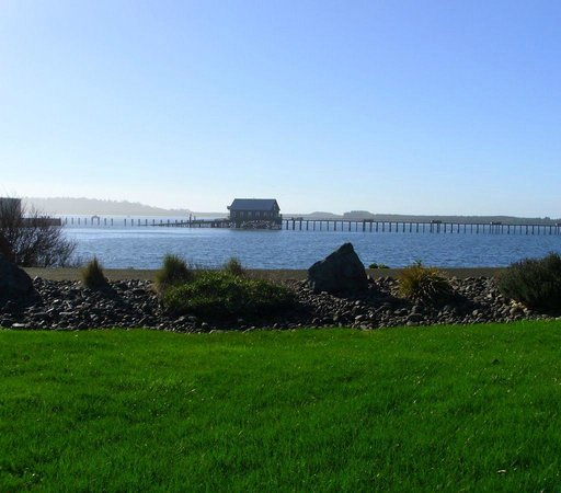 Harborview Inn & RV Park: View from the RV Park