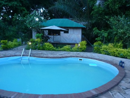 Murera Springs Eco Lodge: Pool side - Solar Heated