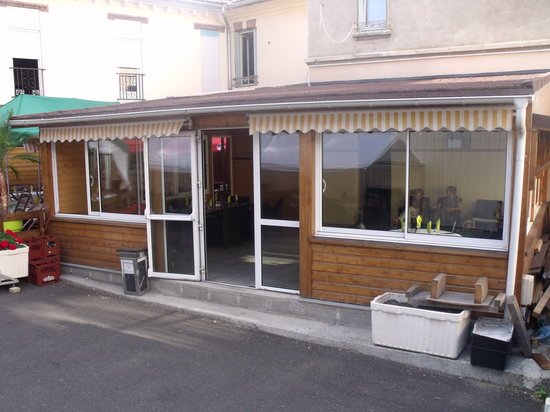 Veranda - Photo de Restaurant Du Stade - Chez fred et nat, Clermont-Ferrand - Tripadvisor
