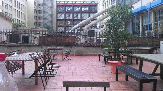 Lullaby Rambla Catalunya: Terrace
