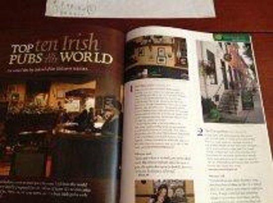 Garryowen Irish Pub: Recently awarded 2nd Best Irish Pub, by Ireland of The Welcomes magazine