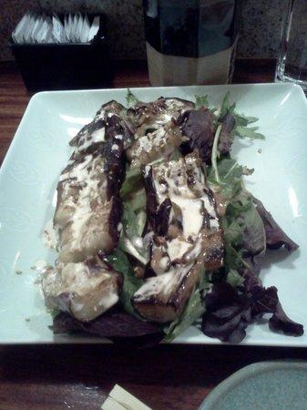 Oishii Sushi Bar: Eggplant Salad!