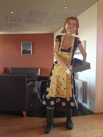 Icelandair Hotel Fludir: You'll find this art in every Icelandair Hotel