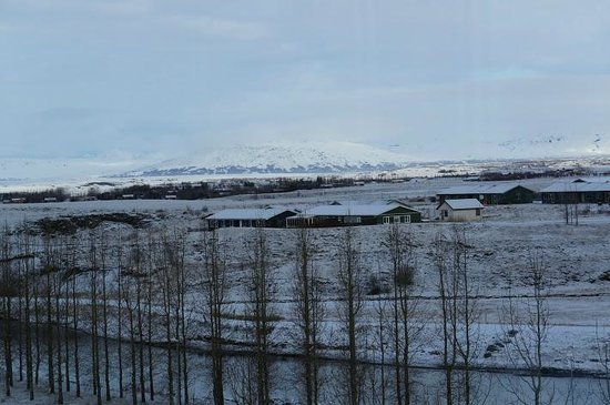 Icelandair Hotel Fludir : Breakfast or dinner with a view