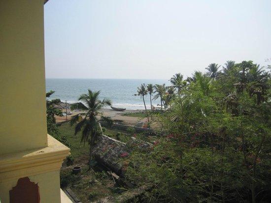 Oasis Beach Resort: Utsikt från takterrassen