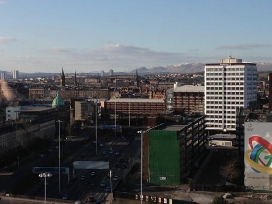 Hilton Glasgow: Glasgow skyline