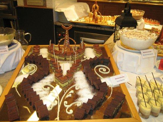 Wellness Hotel Windschar: buffet dolci sogni 2