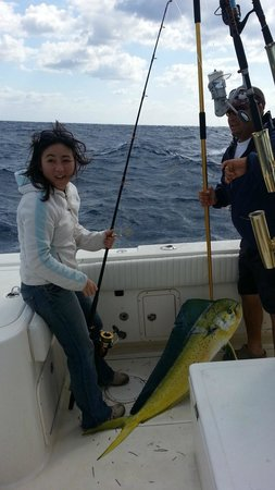 Beast Fishing Charters: She's so amused!!