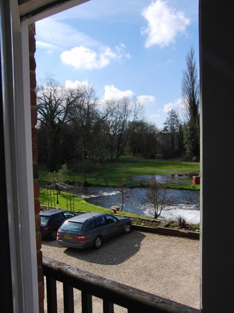 Newbury Manor Hotel: from our room