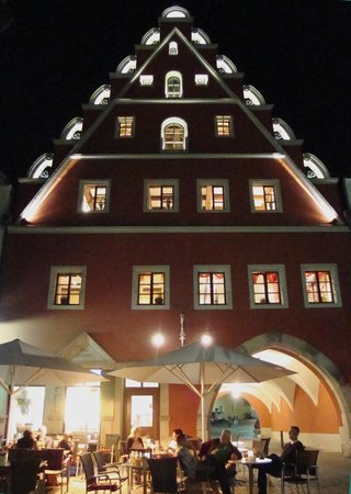 Restaurant Altes Eichamt: Nachtaufnahme