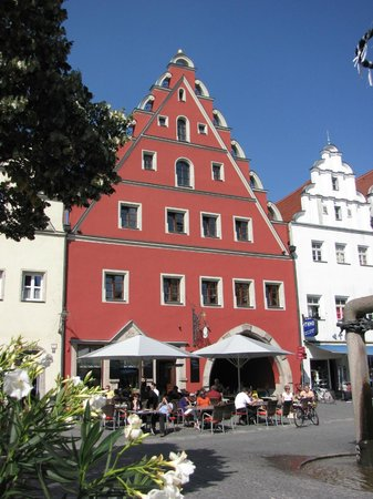 Restaurant Altes Eichamt: Blick auf eine unserer beiden Terassen