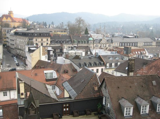 Hotel Am Markt : View over Baden-Baden