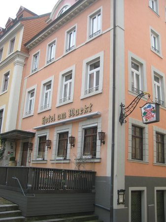 Hotel Am Markt : Hotel from outside