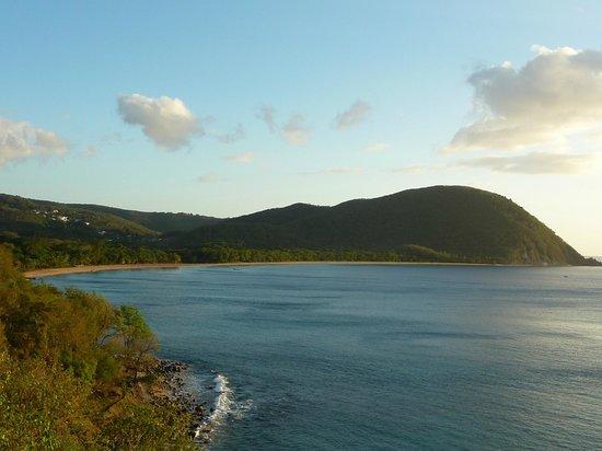 Coeur Caraibes: la plage de Dehaies