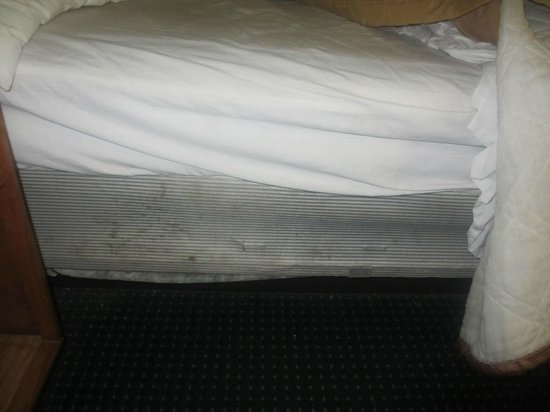 Knights Inn Murfreesboro: filthy mattress