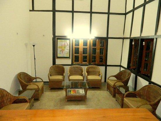 Infinity Resort Kaziranga: reecption area