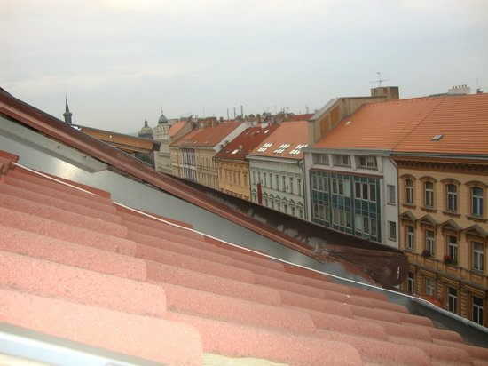 Pension Brezina: View from the last floor